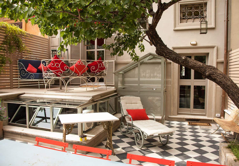 Charming b b villa borghese rome casa fabbrini piccola for Casa fabbrini guest mansion roma